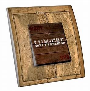 Interrupteur Sans Fil Leroy Merlin : interrupteur en bois ~ Melissatoandfro.com Idées de Décoration