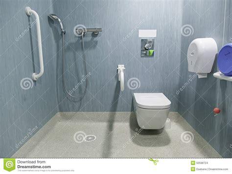 salle de bain hopital salle de bains handicap 233 e photo stock image 50598724