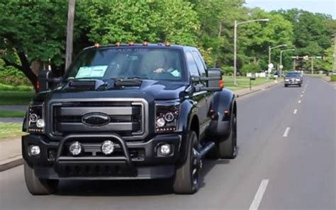 2014 FORD F 450 Black Ops is Ready for Shock & Awesome