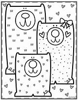 Coloring Pond Library Colorear Coloriage Dibujos Colouring Sheets Kindergarten Adult Printable Outils Bricolage Imprimer Three Valentines 2093 Enfants Tableau Meilleures sketch template