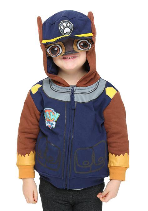 Kids Chase Paw Patrol Costume Hoodie