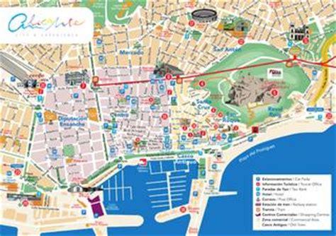 Ufficio Turistico Barcellona by Plano Alicante Centro Alicante Center Map By Alicante