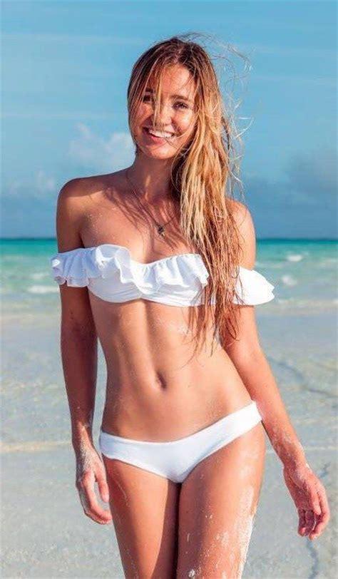 grace johnston bikini eva longoria posts bikini shots during beach getaway on