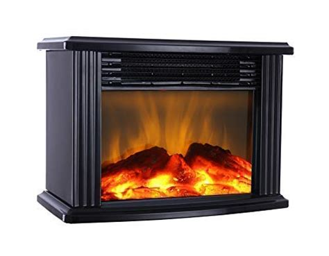 donyer power  mini electric fireplace tabletop portable