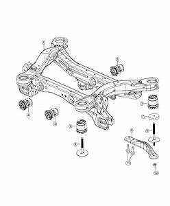 2018 Jeep Cherokee Bracket  Crossmember  Left    Normal Duty Suspension Or  Euro Suspension