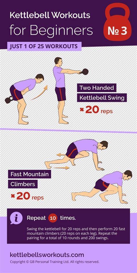 mountain climbers workout swings kettlebell fast kettlebellsworkouts beginners circuit swing training reps benefits challenge