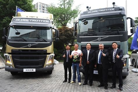 delivery of volvo trucks new range in china market china truck industry truck news parts
