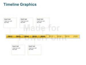 Graphic Timeline Template PowerPoint