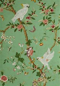 A Week's Worth of Wallpaper Ideas Chinoiserie laurel home