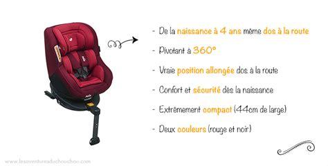 siege auto dos a la route pivotant test du siège auto spin 360 de la marque joie 3