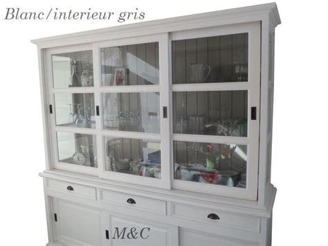 meuble haut cuisine avec porte coulissante buffet vaisselier 6 portes coulissantes