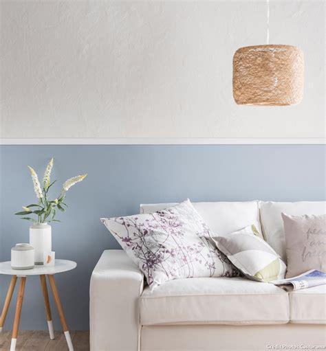 peindre une chambre avec deux couleurs simple dco bas de mur with peindre une chambre avec deux