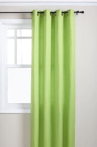 bright lime green curtains and panels for a stylish up to