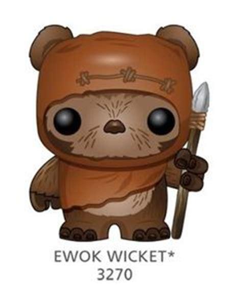 star wars ewok wicket pop vinyl bobble head treasure