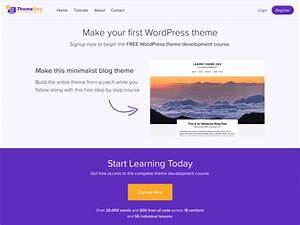 how to create a wordpress theme from scratch compete themes With making a wordpress template