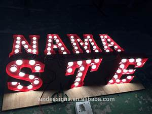 wholesale light up signs online buy best light up signs With light up marquee letters for sale