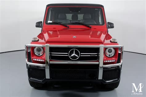 Amg g 63 4dr suv 4wd (4.0l 8cyl turbo 9a). Used 2017 Mercedes-Benz G-Class AMG G 63 AWD 4MATIC 4dr SUV For Sale ($104,995) | Metrolina Auto ...
