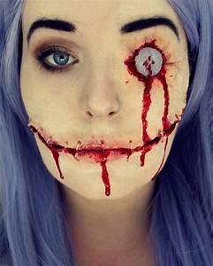 Totally Creepy Halloween Makeup Ideas 2016