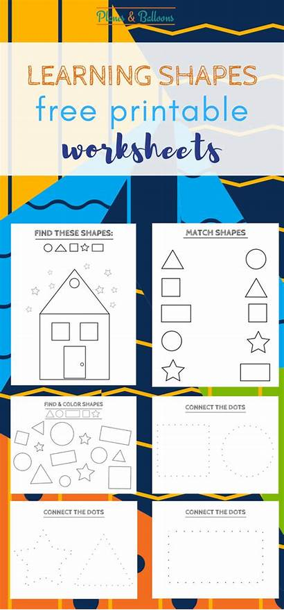 Shapes Printable Learning Activities Printables Pages Coloring