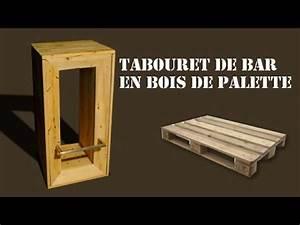 Tabouret De Bar En Bois De Palette YouTube