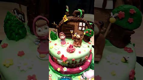 cake design masha et michka