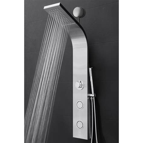 easy connect shower panel  rainfall waterfall shower