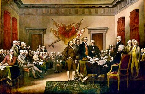 Image result for signing declaration independence