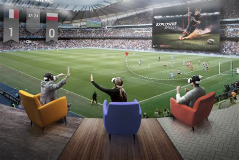 Virtual Reality, The Future Of Sport Nba Live Streams As The Nfl And Premier League Play Catch