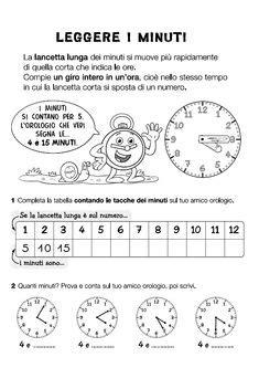 schede didattiche di matematica per imparare a leggere l orologio storia pinterest search