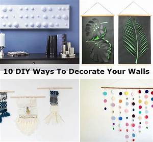 Ways to decorate your walls design ideas for Ways to decorate your walls