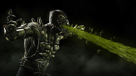 Monster Hunter X Wallpaper Reptile Joins Mortal Kombat X Gematsu
