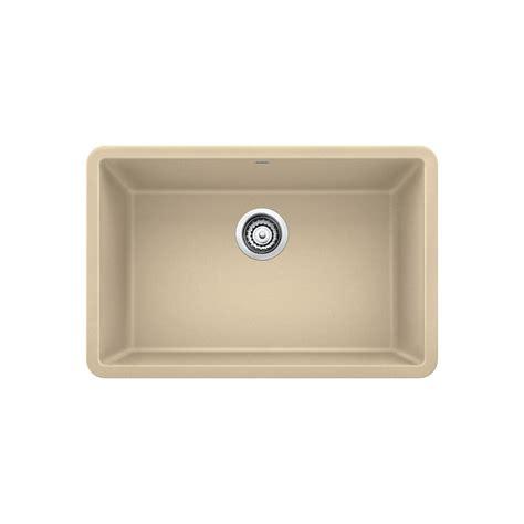 blanco single bowl sink blanco precis undermount granite composite 27 in single