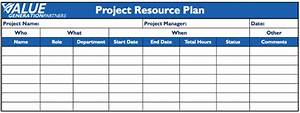 project management page 3 value generation partners vblog With human resource management plan template