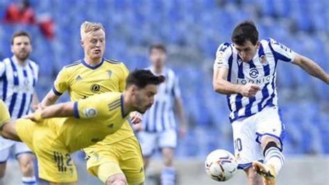 Dónde ver en directo online el Real Sociedad vs. Cádiz de ...
