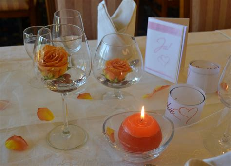 gläser dekorieren mit blumen bankett und feiern hotel zur m 252 hle bad breisig
