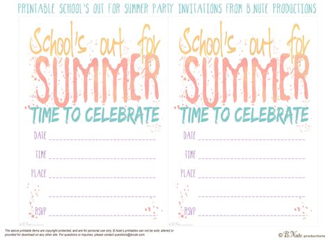 Free Printable School's Out For Summer Crystal Kitchen Cabinet Knobs Elegant White Cabinets Wall Colors With Maple Doors Edmonton Red Kitchens Oak Glass Home Depot Prices Custom For Ikea
