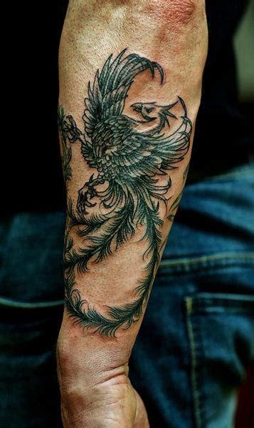 tatuajes del ave fenix  hombres vix