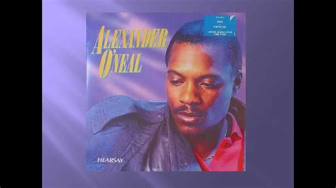 Alexander O'neal  If You Were Here Tonight (slow Version