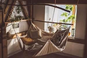 Le, Beanock, Beanbag-hammock, Bed