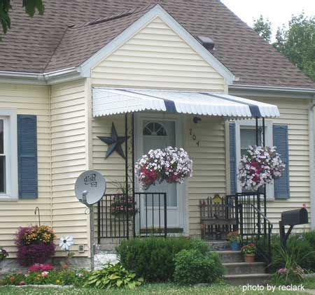 porch awning ideas  pinterest porch roof