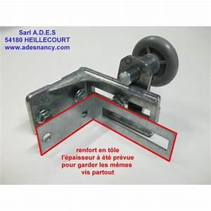 Novoferm Pieces Detachees : renfort d 39 equerre de support roulette sur portes ~ Melissatoandfro.com Idées de Décoration