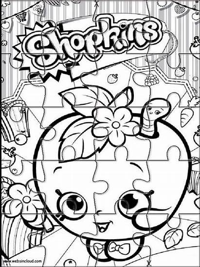Shopkins Printable Websincloud Jigsaw Puzzle Activities Cut