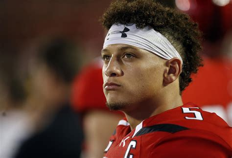 talbot mahomes   decision  leave tech  nfl