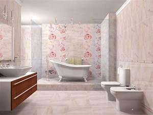 faience salle de bains declinee en 40 photos pour s39inspirer With carrelage rose salle de bain