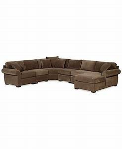 trevor fabric 6 piece chaise sectional sofa couches With rylee fabric 2 piece sectional sofa