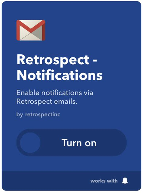 how to turn email notifications on iphone retrospect get retrospect notifications on your