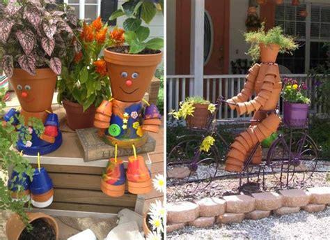 decorazioni vasi vasi terracotta vasi in terracotta piccoli decorati a