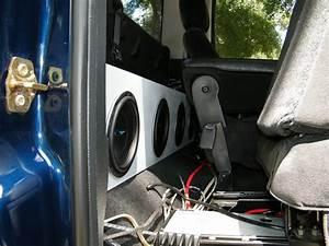 Dodge Regular Cab Speaker Box 4x8 U0026quot  Id Sub  Tx