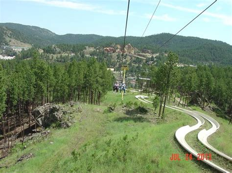 from chair lift picture of rushmore tramway