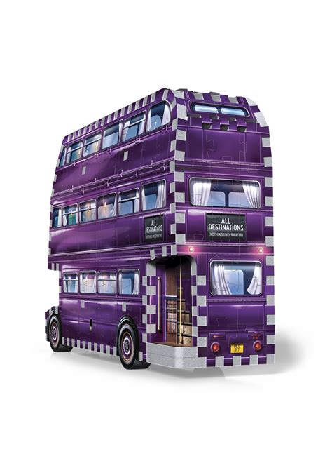 harry potter  jigsaw puzzle  knight bus